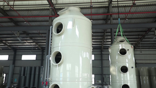 Efficient Industrial Gas Disposal Equipment Factory Exhaust - Exhaust Wet Scrubber