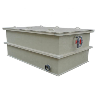 pp plastic tanks plating bath electroplating bath