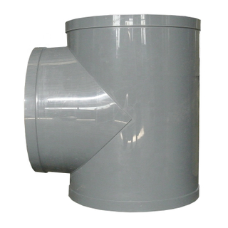 PP Pipe Fittings Joint Plastic Pipe Tee