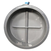 dn63~dn1500mm Polypropylene Round Air Duct Butterfly Damper