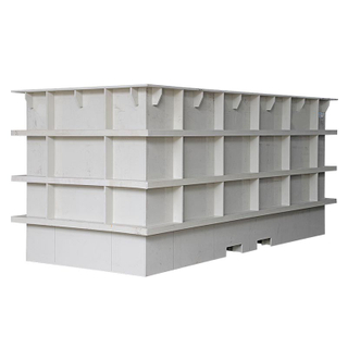 Plastic Pp Material Water Tank Water Storage with Anti Corrosion