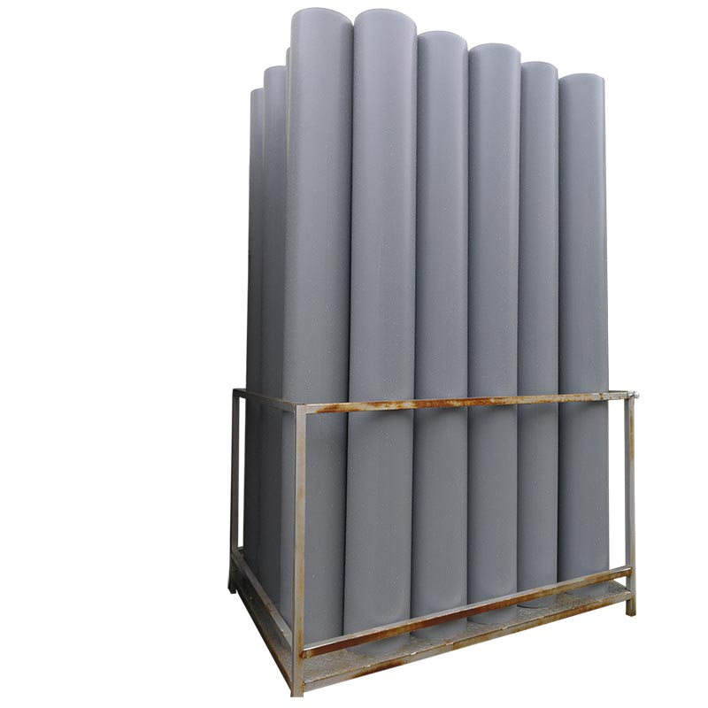 Material Plastic exhauste dust rigid air duct for HAVC System,air duct