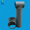 Three Way Pipe Connector PP PVC Plastic Pipe Fitting Tee