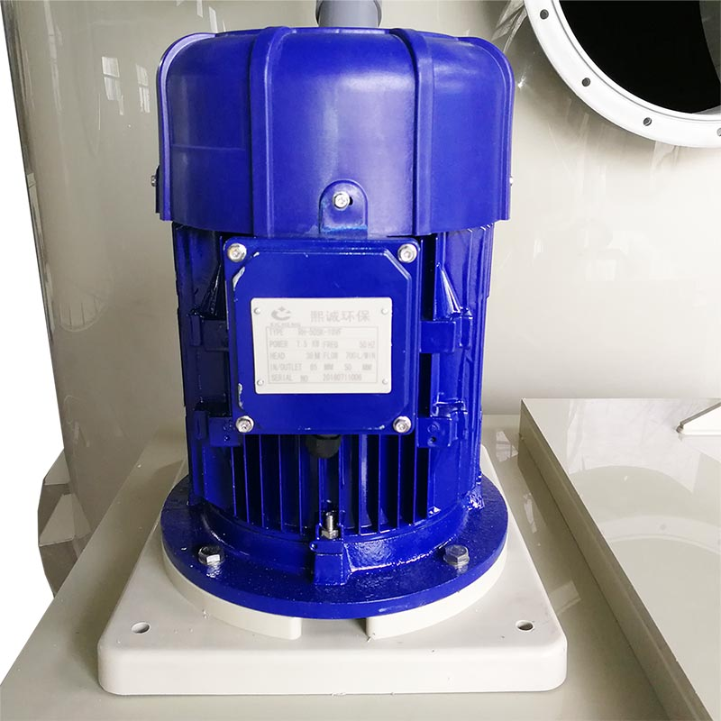 Industrial Waste Gas Treatment Device Wet Scrubber for Remove Pollutants