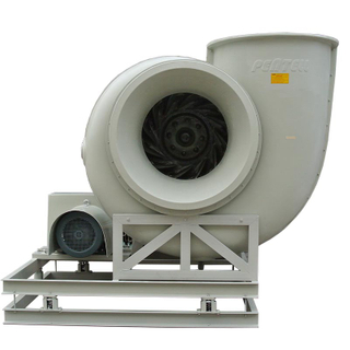Draws The Air into The Inlet of The Blower Housing While An Axial Flow Fan