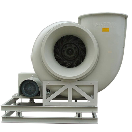 Efficient Winding Machine Industrial Exhaust PP & FRP Fan for Ventilation