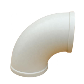 Grey Or Beige Polypropylene Pipe Fitting/pipe Elbow 90 Degree Elbow Pipe