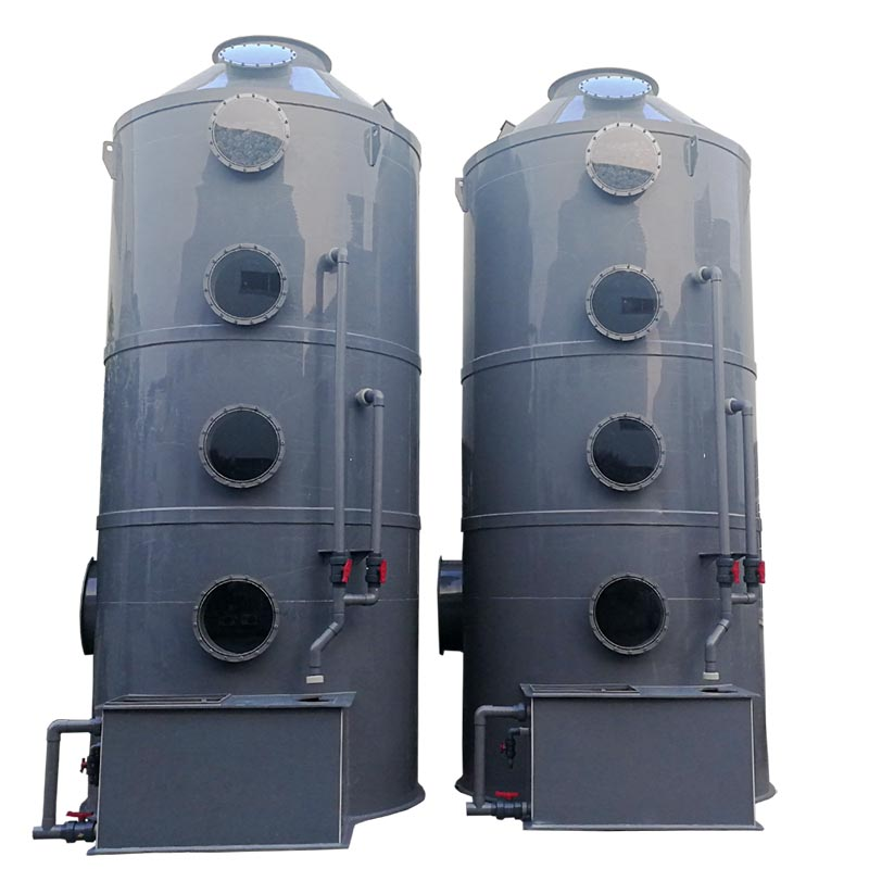 Plastic Fume And Wet Scrubber in Gas Disposal Better Price Design